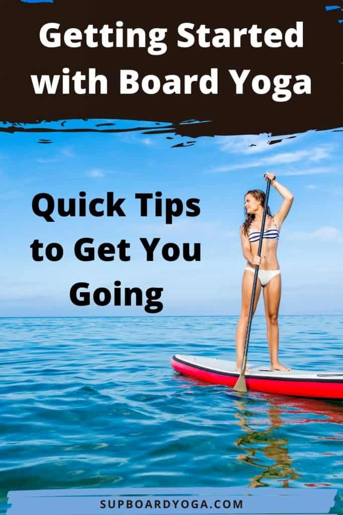 VideoGetting Started with PaddleBoard Yoga SUP Board Yoga